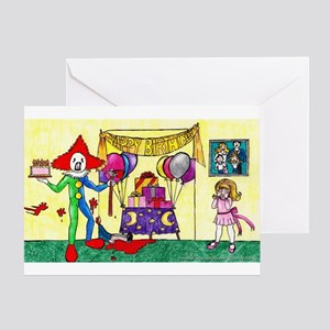 Mr. Clown: Worst Birthday Ever Birthday Card