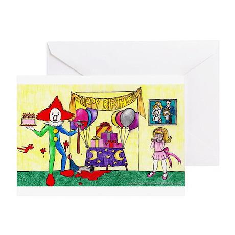 Mr Clown Worst Birthday Ever Birthday Card By Mrclownonline