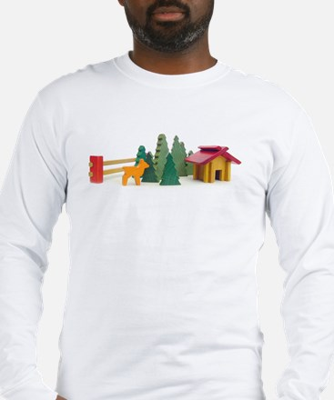 Cabin in the Woods Long Sleeve T-Shirt