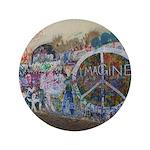 """John Lennon Wall Imagine 3.5"""" Button"""