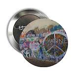 """John Lennon Wall Imagine 2.25"""" Button"""