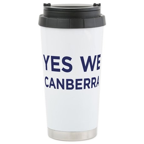 Yes We Canberra Stainless Steel Travel Mug