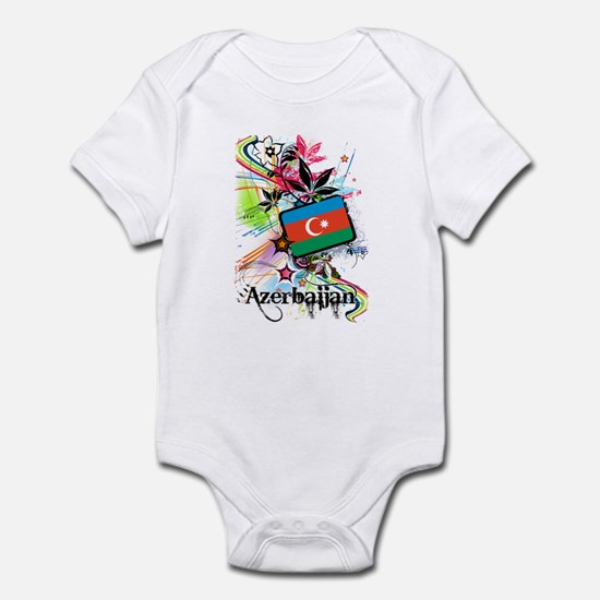 Flower Azerbaijan Infant Bodysuit