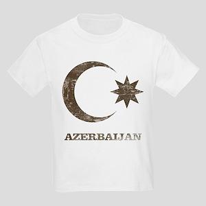Vintage Azerbaijan Kids Light T-Shirt