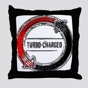 Corvair Turbo Throw Pillow