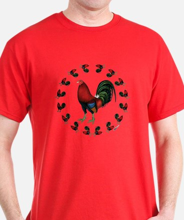 Rooster Circle T-Shirt