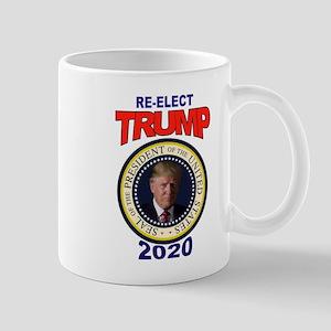 RE-ELECT TRUMP Mugs
