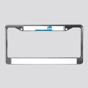 Toothbrush License Plate Frame