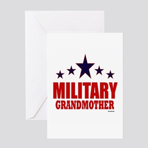 Military Grandmother Greeting Card