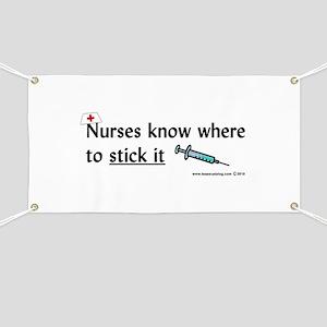 Nurse..Stick it Banner