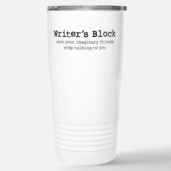 Writer's Block Stainless Steel Travel Mug