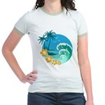 Exotic Beach - Jr. Ringer T-Shirt