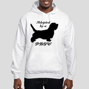 ADOPTED by a PBGV Hooded Sweatshirt