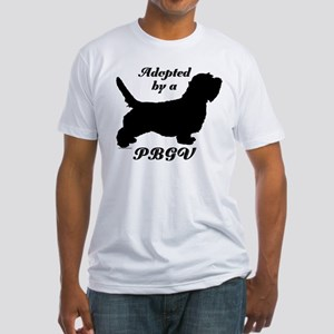 ADOPTED by a PBGV Fitted T-Shirt