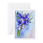 Iris Bouquet Greeting Cards (Pk of 10)