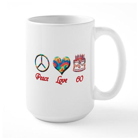 2-peace love 60 copy Mugs