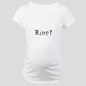 Line Maternity T-Shirt