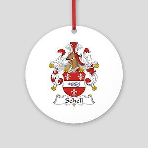 Schell Ornament (Round)