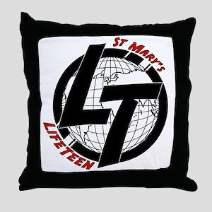 LT Globe Throw Pillow