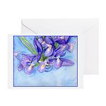 Iris Vase Greeting Cards (Pk of 10)