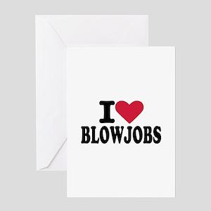 Blowjob Greeting Card