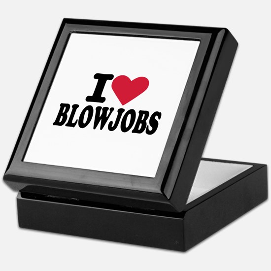 Blowjob Keepsake Box