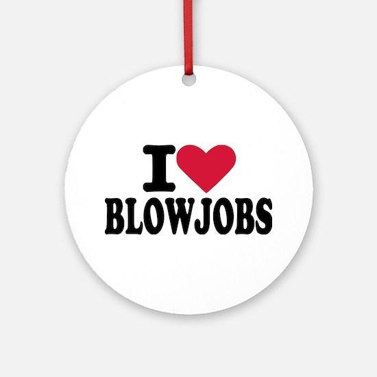 Blowjob Ornament (Round)