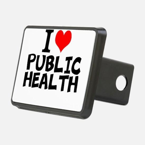 I Love Public Health Hitch Cover