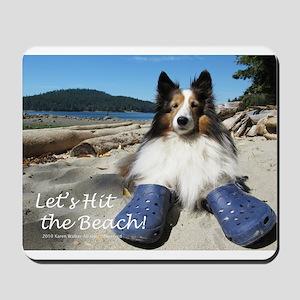 Let's hit the beach! Mousepad