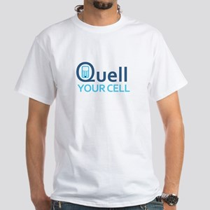 Quell/Quit--White T-Shirt