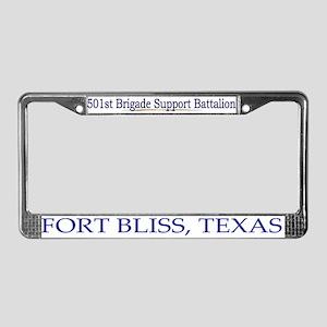 501st Brigade Support Bn License Plate Frame