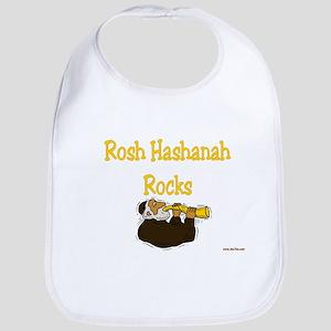 Rosh Hashanah Rocks Bib