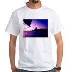 Statue of Liberty 4th of July NYC White T-Shirt