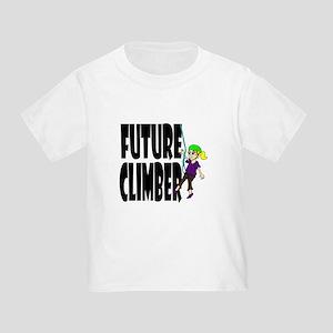 Future Climber Toddler T-Shirt