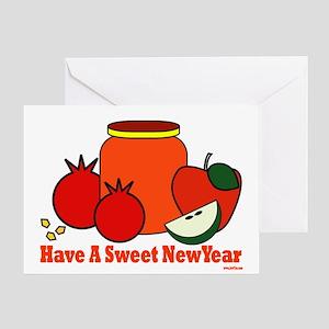 Jewish Sweet New Year Greeting Card