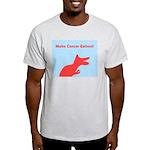 Make Cancer Extinct T-Rex Light T-Shirt