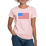 4th of July American Flag Women's Light T-Shirt