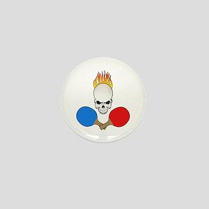 Skull Pong Mini Button (10 pack)