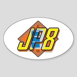 JP8 Sticker (Oval)