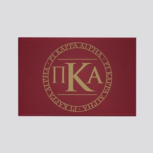 Pi Kappa Alpha Circle Rectangle Magnet