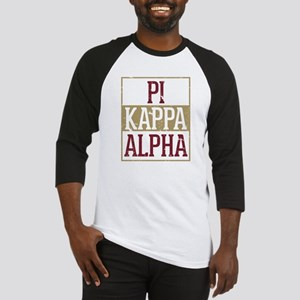 Pi Kappa Alpha Stacked Baseball Jersey