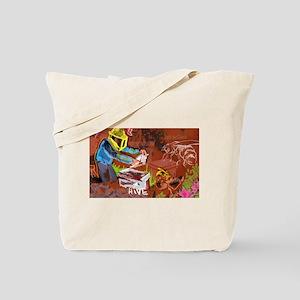 The Beekeper & The Honeybee Tote Bag
