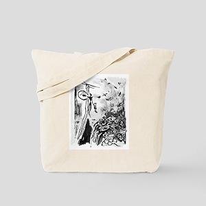 Ancient Honey Hunter Tote Bag