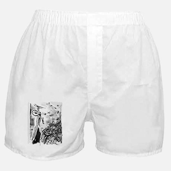 Ancient Honey Hunter Boxer Shorts
