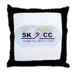 Straight Key Century Club Throw Pillow