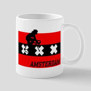 Amsterdam Cycling Female Mug