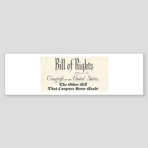 Bill of Rights Sticker (Bumper)
