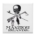 Manitou Islands Tile Coaster