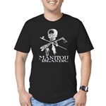 Manitou Islands Men's Fitted T-Shirt (dark)