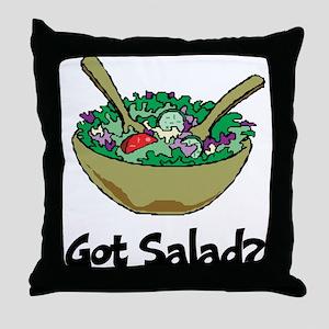 Got Salad Throw Pillow